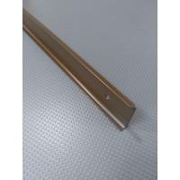 Стикова планка для стільниці EGGER кутова колір RAL8014